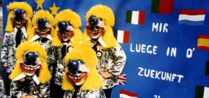 Gruppenfoto Fasnacht 1992