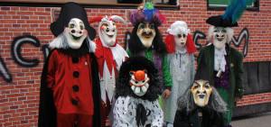 Gruppenfoto Fasnacht 2009