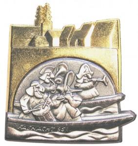 Plakette Fasnacht 1995