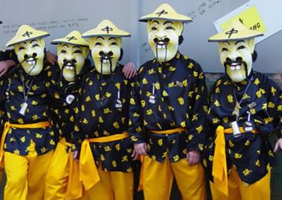 Gruppenfoto Fasnacht 2003