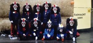 Gruppenfoto Fasnacht 2001
