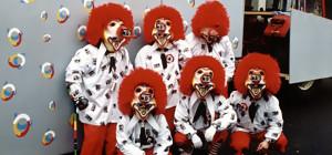 Gruppenfoto Fasnacht 1995