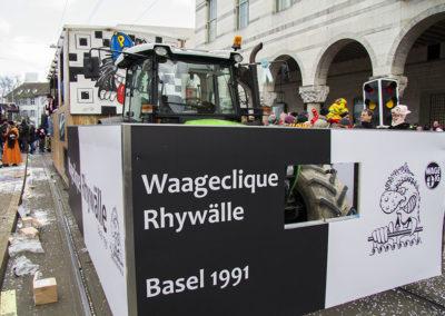 Waageclique Rhywälle Fasnacht 2018