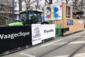 Waageclique Rhywälle Fasnacht 2019